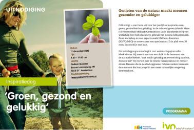 Uitnodiging Groen, Gezond en Gelukkig 12 dec 2013-1