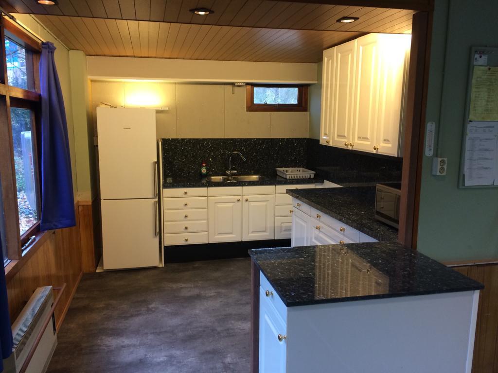 nieuwe keuken clubhuis Zonnehoek